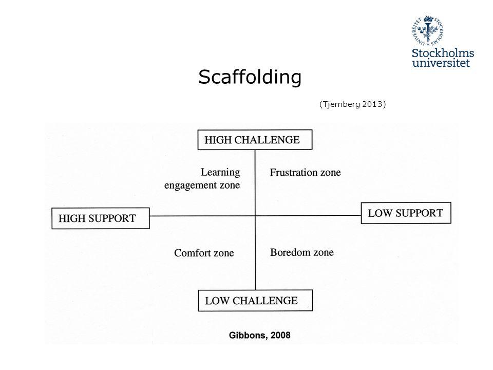 Scaffolding (Tjernberg 2013)