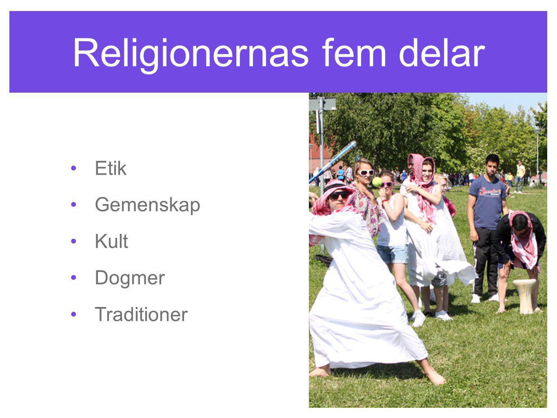 Religionernas fem delar