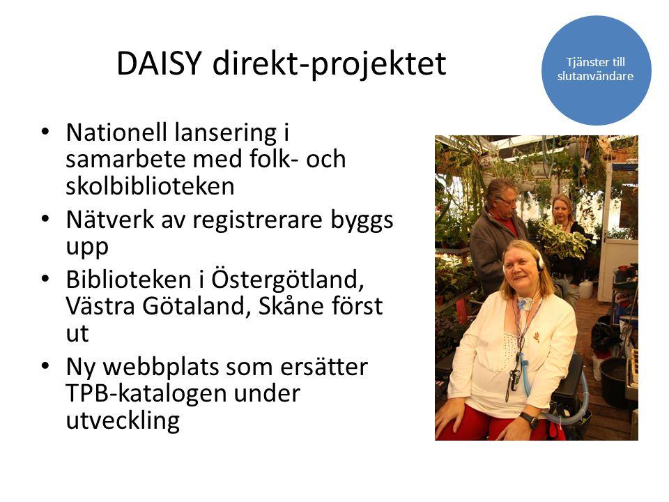 DAISY direkt-projektet
