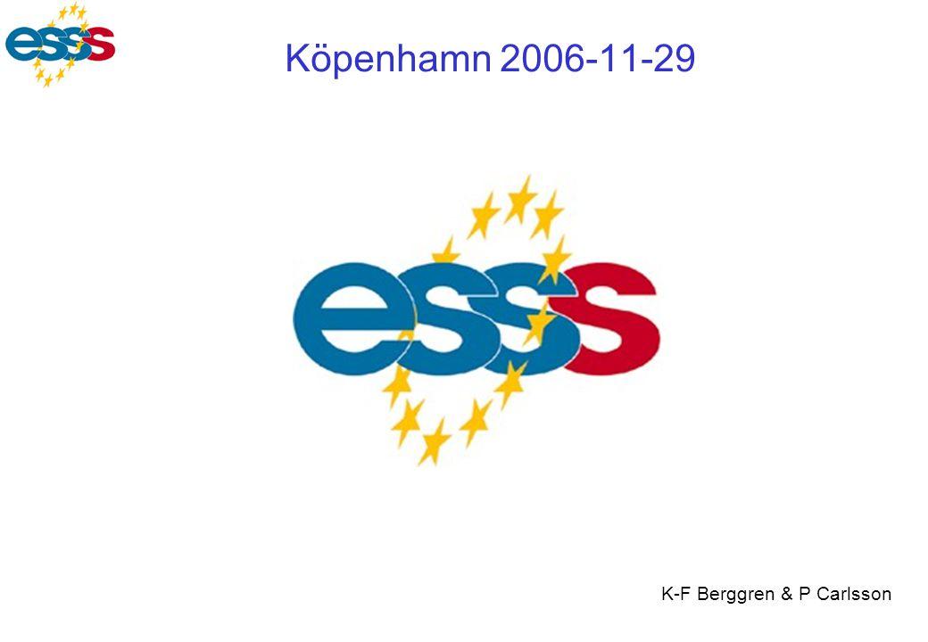 Köpenhamn 2006-11-29 K-F Berggren & P Carlsson