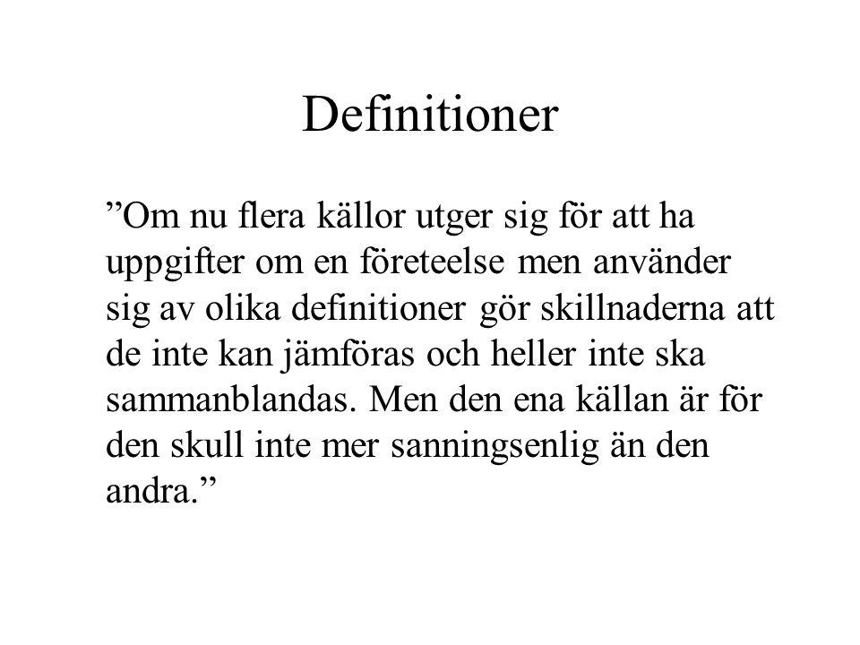 Definitioner