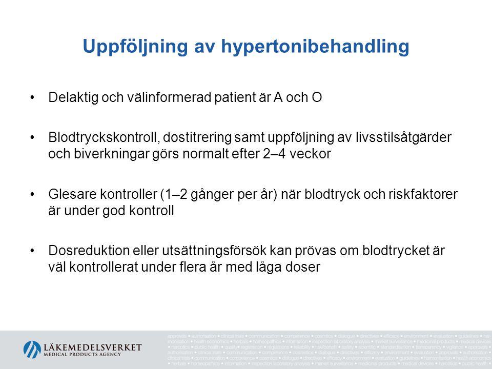 Uppföljning av hypertonibehandling