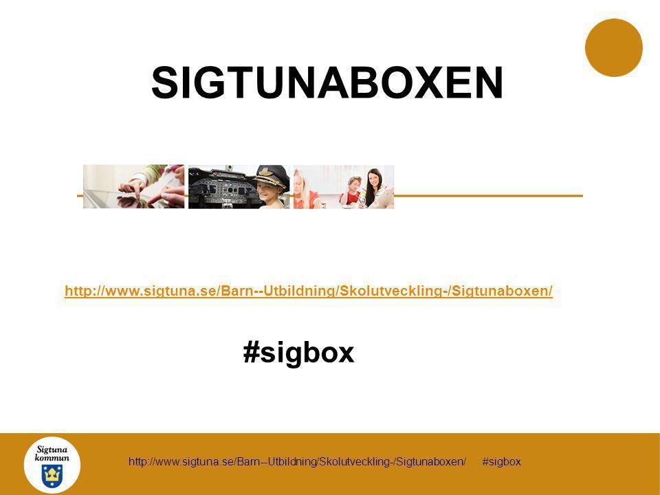 SIGTUNABOXEN #sigbox SIGTUNABOXEN