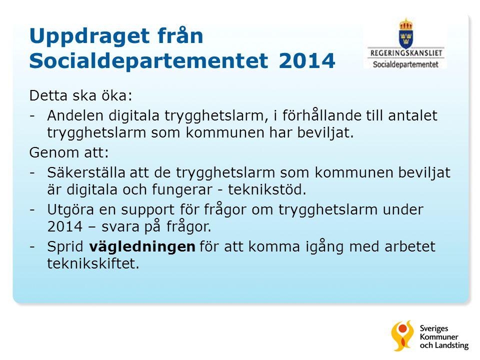 Uppdraget från Socialdepartementet 2014