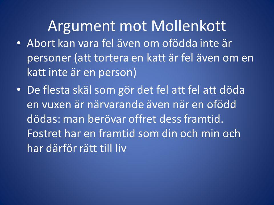 Argument mot Mollenkott