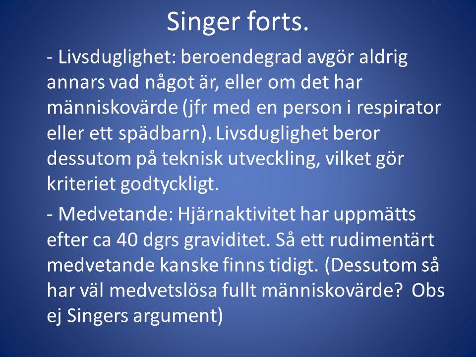 Singer forts.