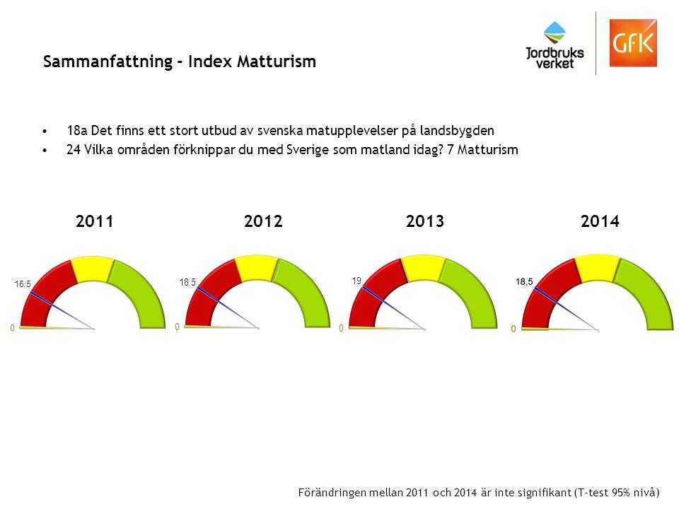 Sammanfattning - Index Matturism