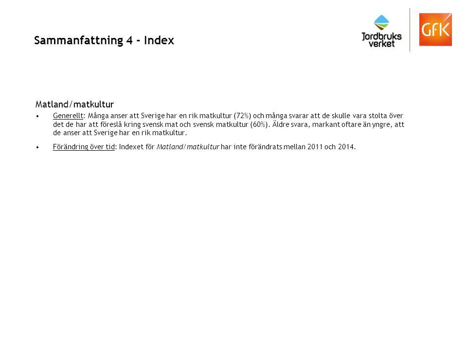 Sammanfattning 4 - Index