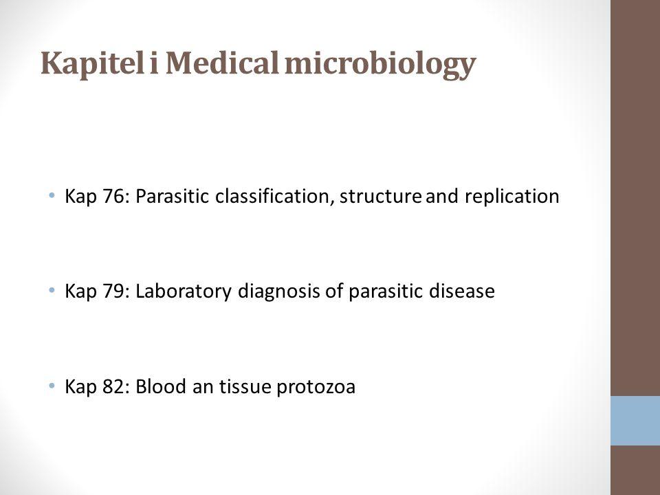 Kapitel i Medical microbiology