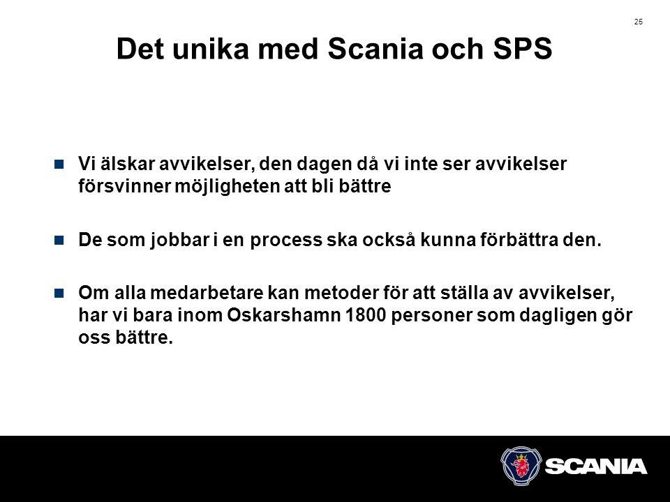 Det unika med Scania och SPS