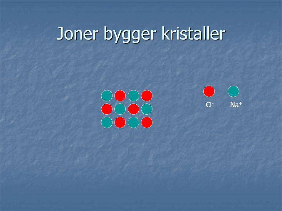 Joner bygger kristaller
