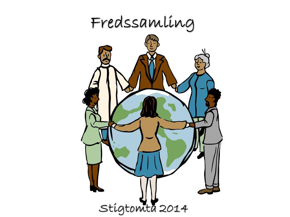 Fredssamling Stigtomta 2014