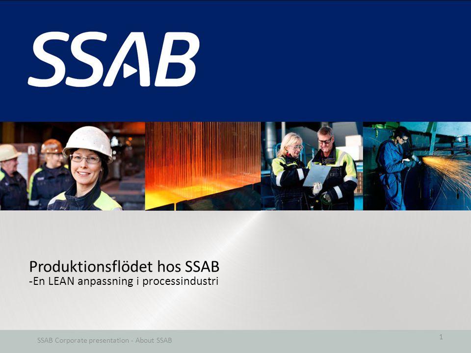 SSAB Corporate presentation - About SSAB