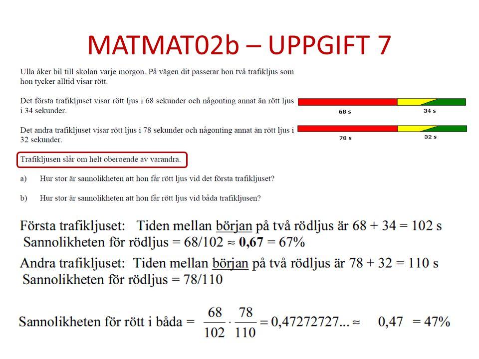 MATMAT02b – UPPGIFT 7