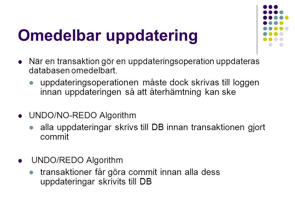 Omedelbar uppdatering
