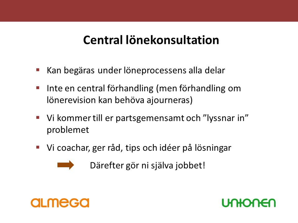 Central lönekonsultation