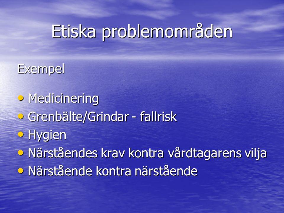 Etiska problemområden
