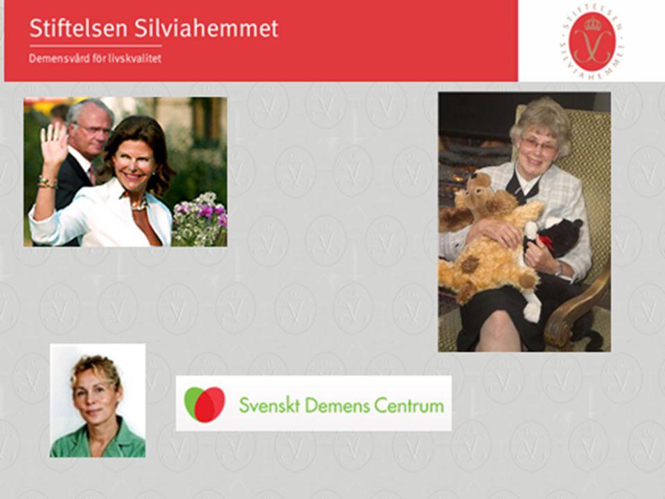 Hennes Majestät Drottning Silvia är ordförande i Stiftelsen Silviahemmet
