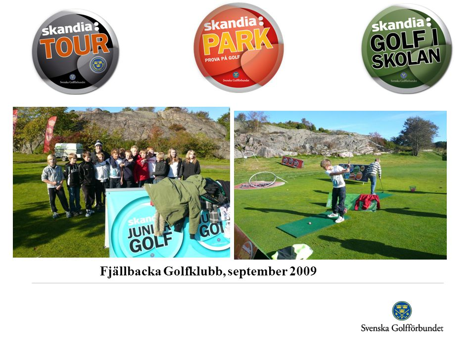 Fjällbacka Golfklubb, september 2009