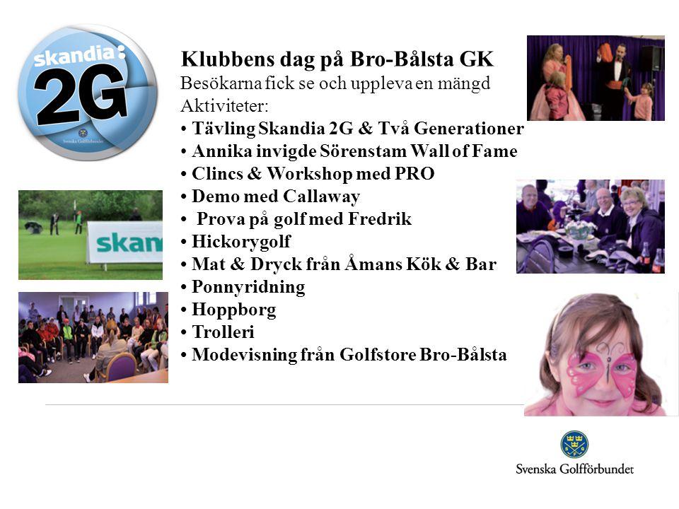Klubbens dag på Bro-Bålsta GK