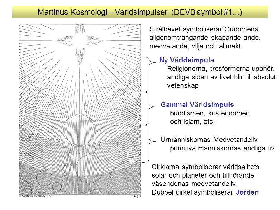 Martinus-Kosmologi – Världsimpulser (DEVB symbol #1...)