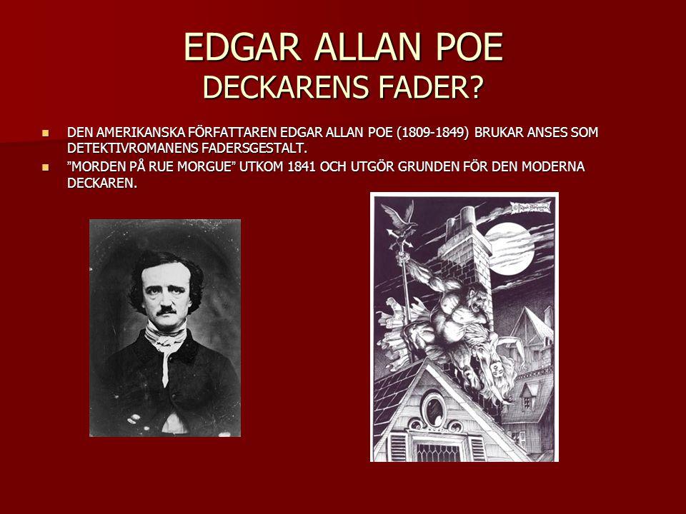 EDGAR ALLAN POE DECKARENS FADER
