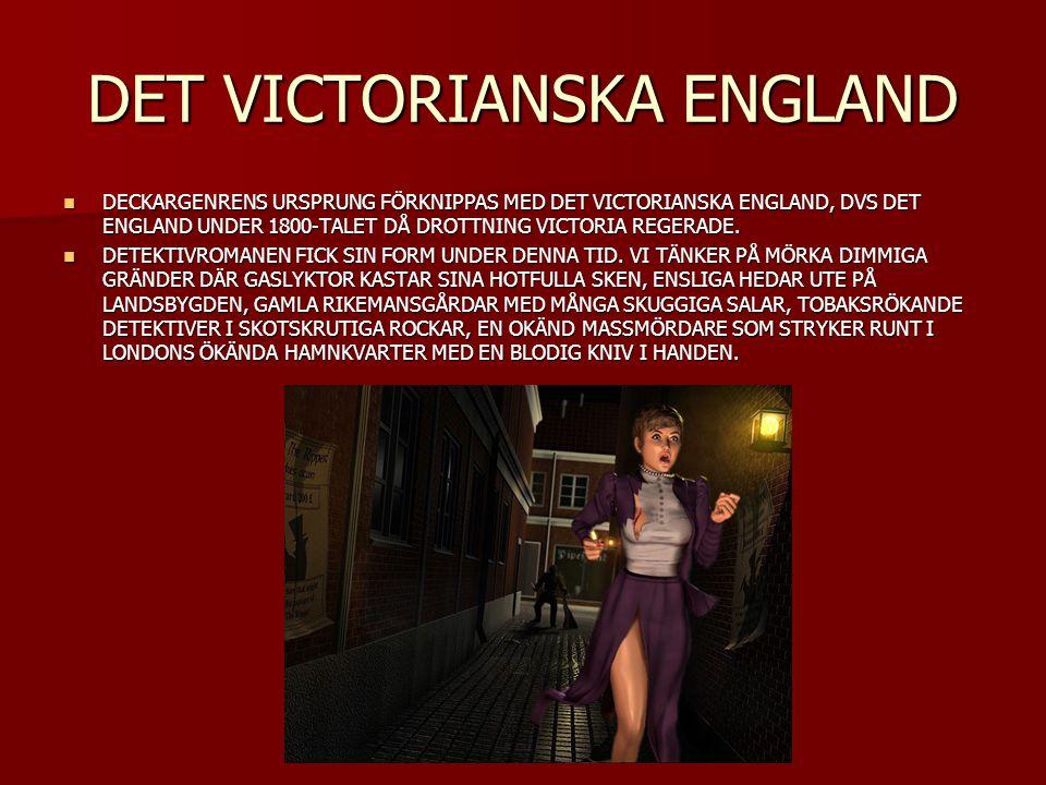 DET VICTORIANSKA ENGLAND