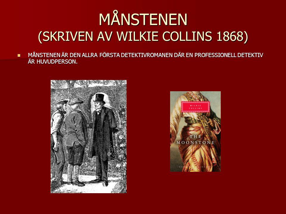 MÅNSTENEN (SKRIVEN AV WILKIE COLLINS 1868)