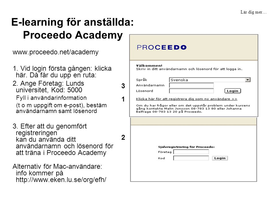 E-learning för anställda: Proceedo Academy