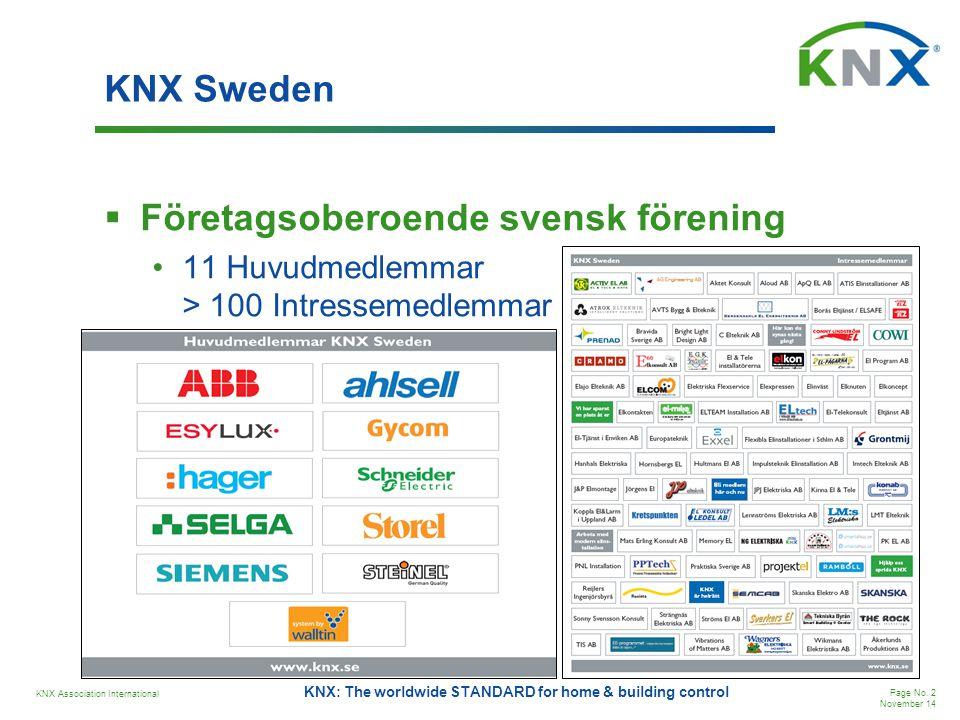 Företagsoberoende svensk förening