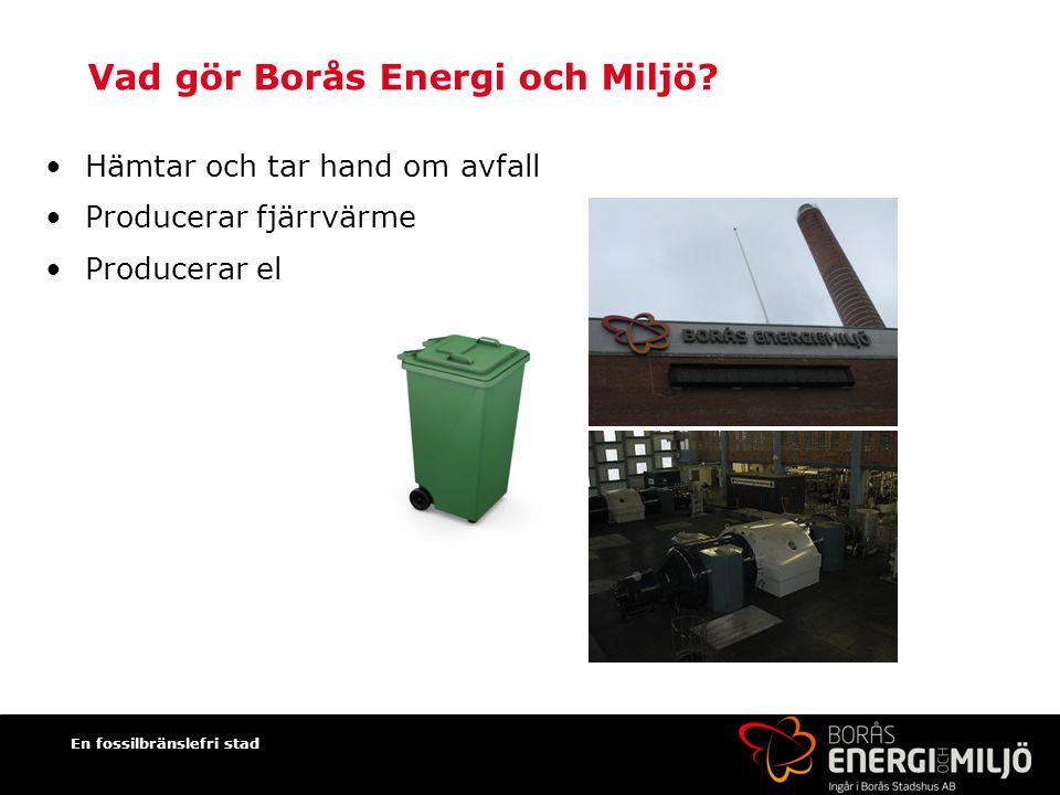 Vad gör Borås Energi och Miljö