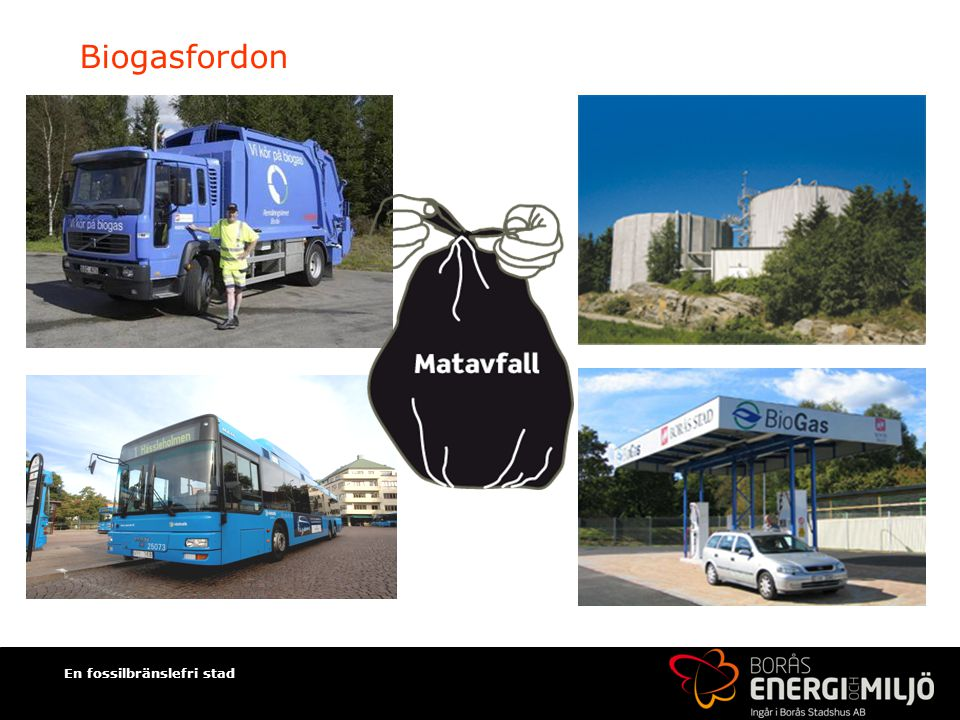 Biogasfordon