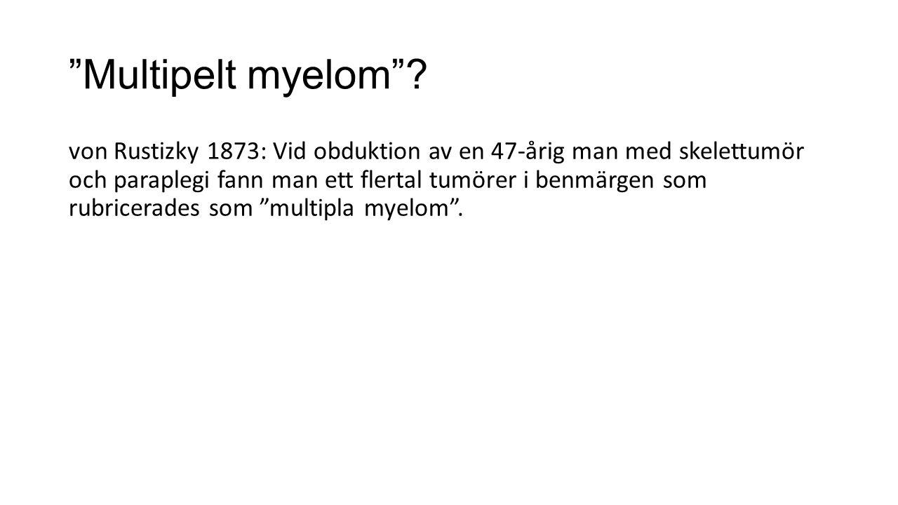 Multipelt myelom