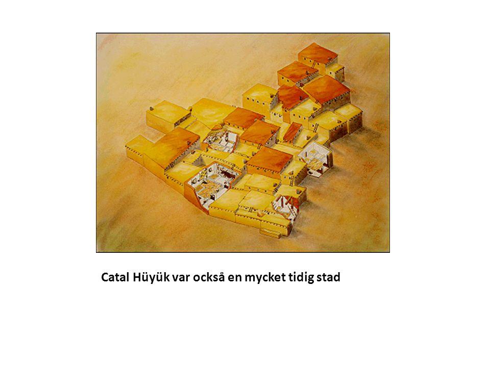 Catal Hüyük var också en mycket tidig stad