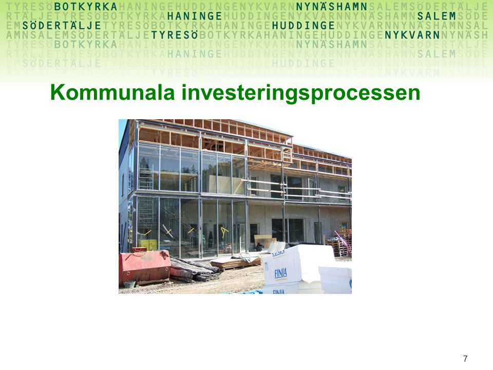 Kommunala investeringsprocessen