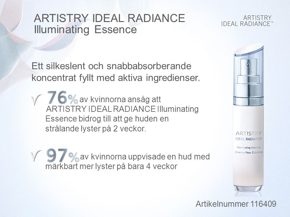 ARTISTRY IDEAL RADIANCE Illuminating Essence