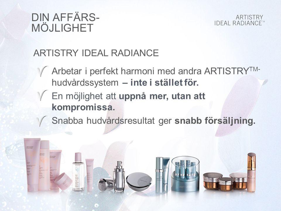 DIN AFFÄRS- MÖJLIGHET ARTISTRY IDEAL RADIANCE