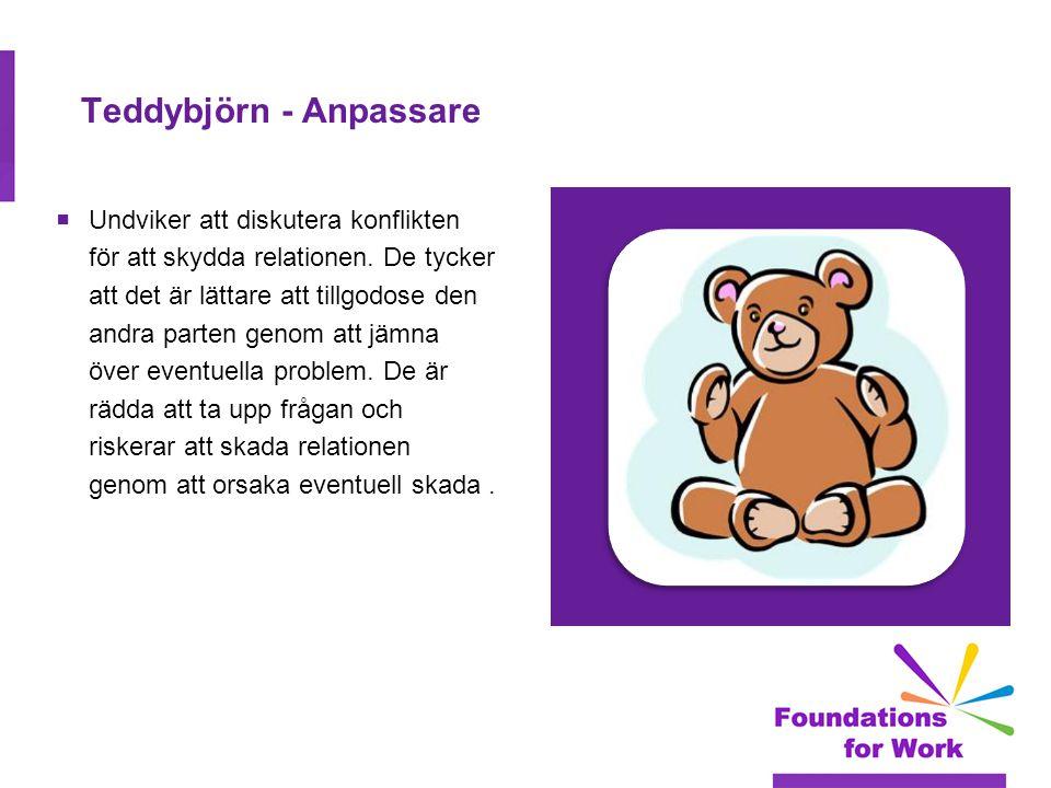 Teddybjörn - Anpassare
