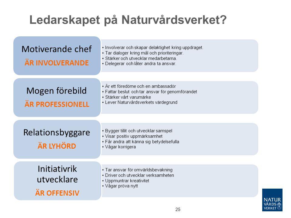 Ledarskapet på Naturvårdsverket