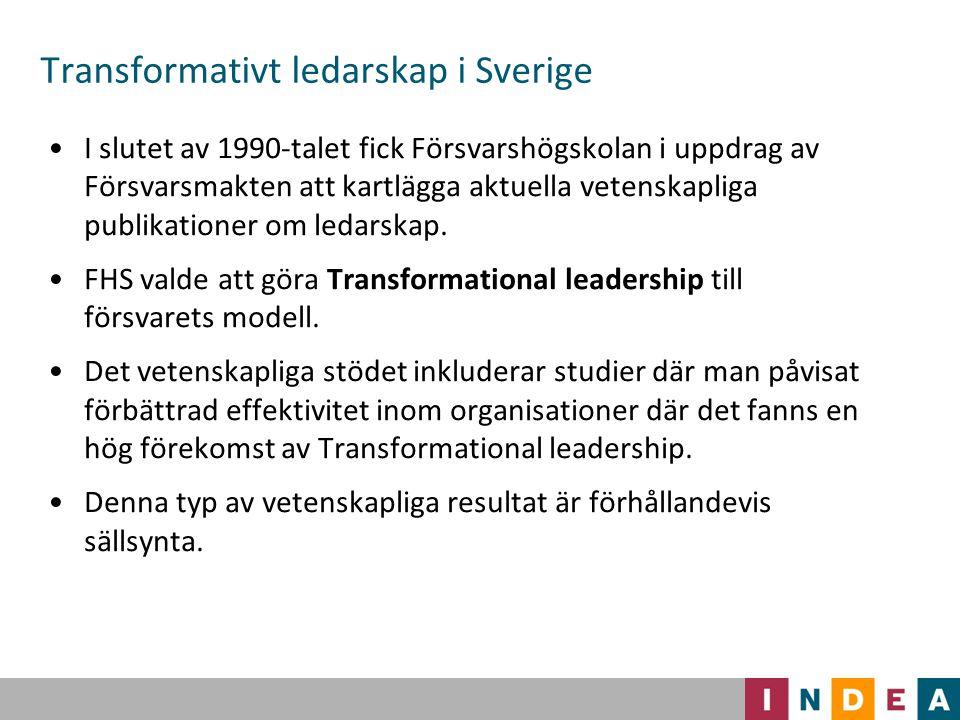 Transformativt ledarskap i Sverige