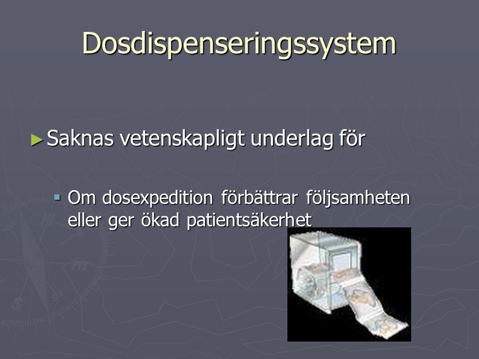 Dosdispenseringssystem