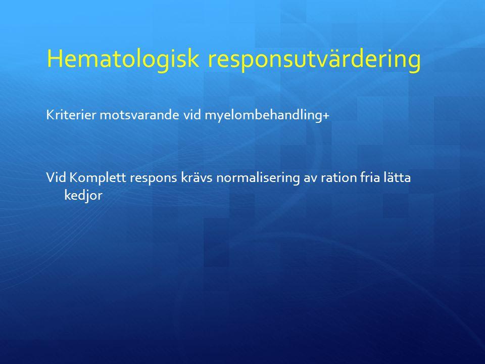 Hematologisk responsutvärdering
