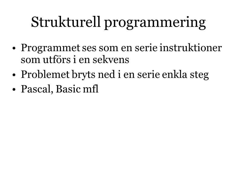 Strukturell programmering