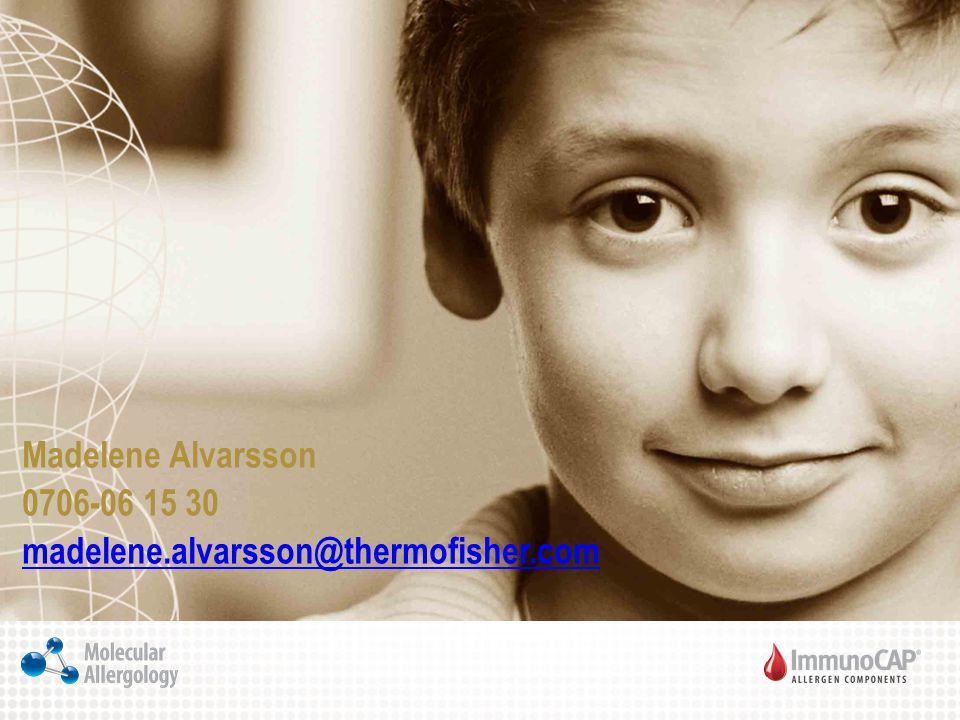 Madelene Alvarsson 0706-06 15 30 madelene.alvarsson@thermofisher.com