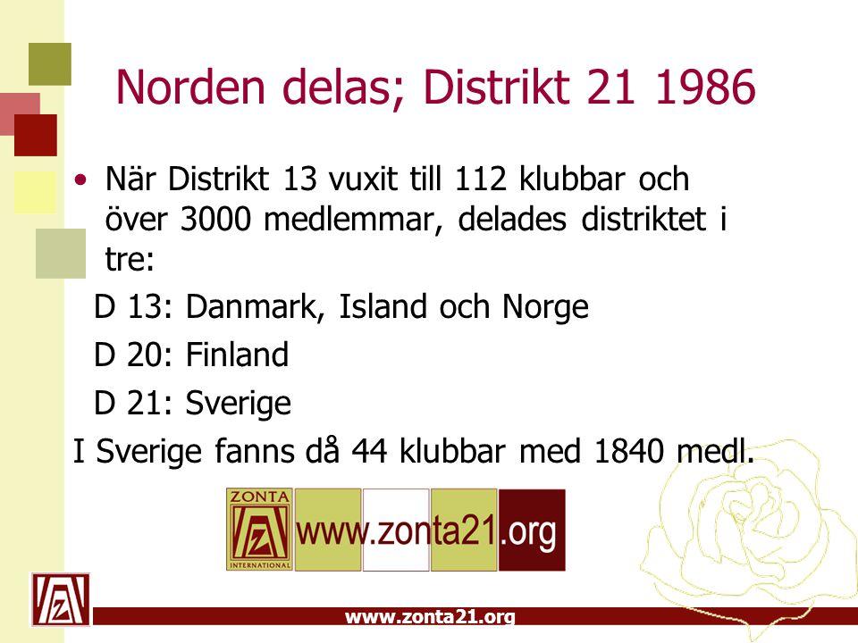 Norden delas; Distrikt 21 1986