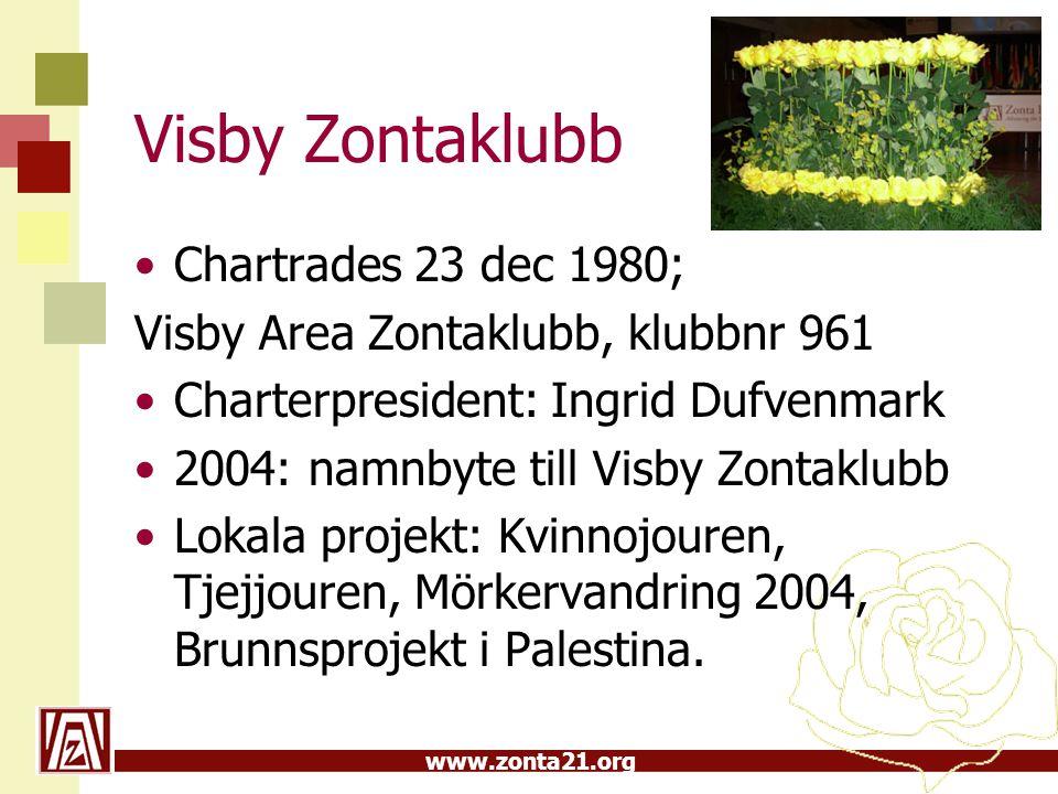 Visby Zontaklubb Chartrades 23 dec 1980;