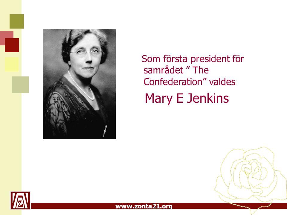Som första president för samrådet The Confederation valdes