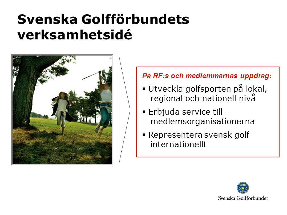 Svenska Golfförbundets verksamhetsidé