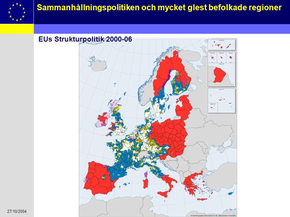 EUs Strukturpolitik 2000-06