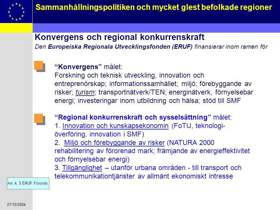 Konvergens och regional konkurrenskraft